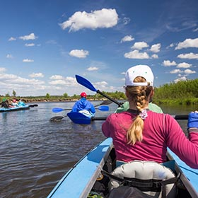 Houston Area Attractions Kayaking